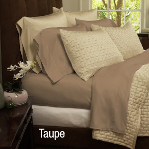 4-Piece Set: Super-Soft 1800 Series Bamboo Fiber Bed Sheets-  $34.99 with Free Shipping