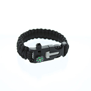 5-in-1 Survival Bracelet - 2 Pack - $10 with FREE Shipping!
