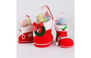 3-Piece Set: Santa's Boot Gift Boxes - $14.99 With FREE Shipping