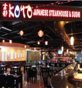 Koto Japanese Steakhouse